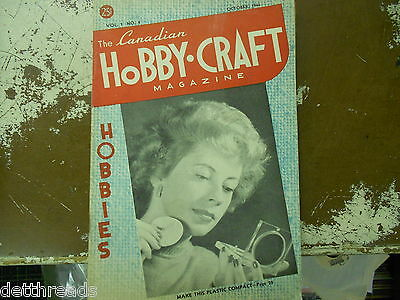 THE CANADIAN HOBBY-CRAFT MAG   - Oct. 1946 - Vol. 1 No. 4