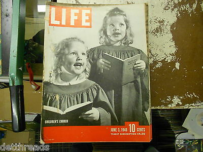 LIFE MAGAZINE - 6/3/1946 - Henry Ford/Jim Folsom/Ethel Merman/Harry Bellaver