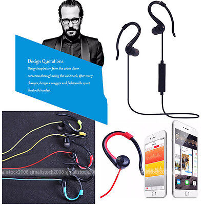 Bluetooth 4.1 Sport Headset Earbuds Stereo Headphone Earphone for iPhone Samsung