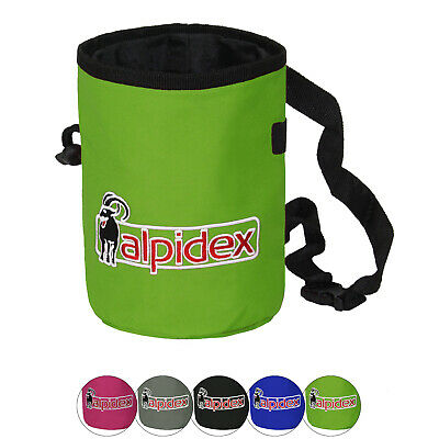 Alpidex Chalkbag HIGHFLY m Hüftgurt Bauchgurt Chalk Bag Leckerlibeutel Klettern