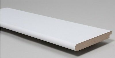 White Primed MDF Window Board 244mm x 25mm Various Lengths Replacement Sill