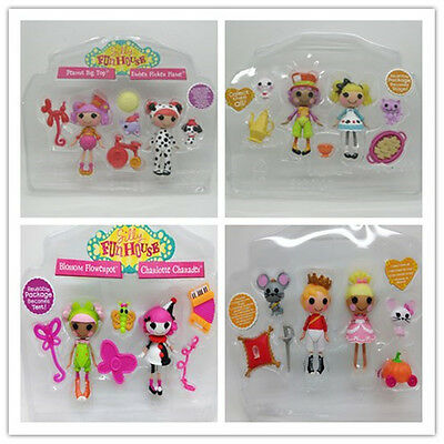 1PCS NEW Lot Mini Lalaloopsy dolls pack ALICE IN WONDERLAND AND WACKY HATTER