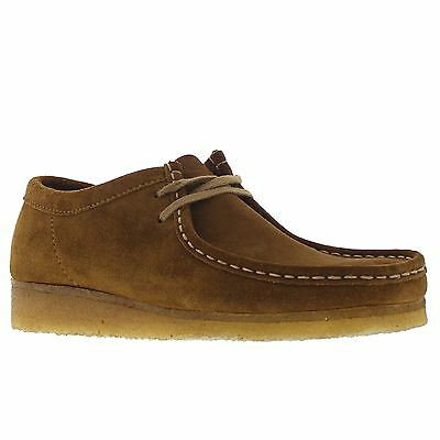 Clarks Originals Wallabee Leather Cola Mens Shoes