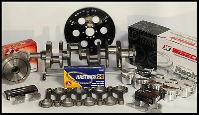BBC CHEVY 505 ASSEMBLY FULLY FORGED +20cc DOME 4.350 PISTONS 100 OVER 2PC+4340