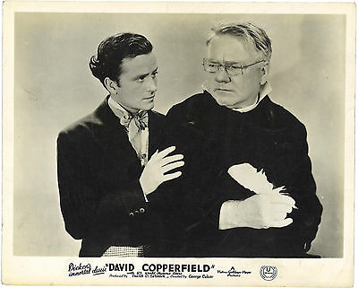 * DAVID COPPERFIELD (1935) UK Front of House Card W.C. FIELDS and FRANK LAWTON