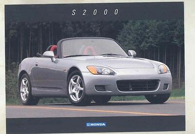 1999 Honda S2000 Brochure my5631
