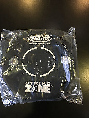 """E-Pad Knee drum practice pad """"Strike Zone"""" 5"""" Fast Shipping"""