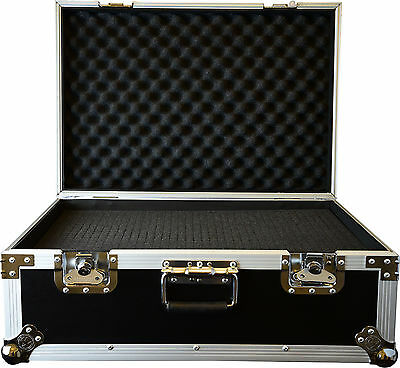 Utility / microphone  / camera / equipment case flightcase 65x45x27 cm with foam