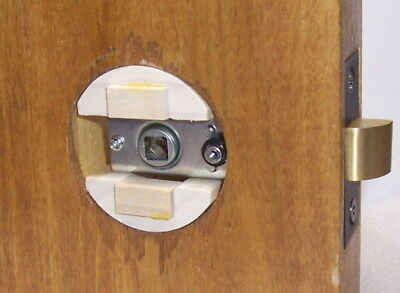 Our original Wood Adapter to Antique Crystal Glass Knob sets Modern Drilled Door