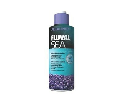 Fluval Sea Alkalinity 237ml 473ml Marine Reef Coral Aquarium Supplement Additive