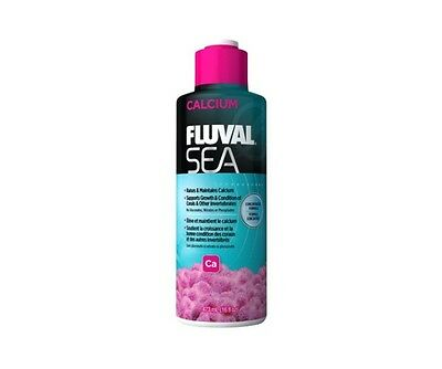 Fluval Sea Calcium 237ml 473ml 2L Marine Reef Coral Aquarium Supplement