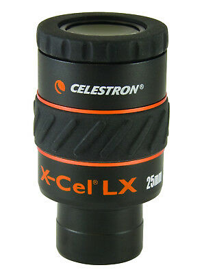 Celestron X-cel � Series 1.25in 25mm Eyepiece - 93426