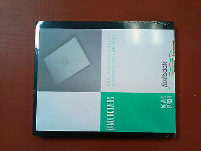 "Black Powis Parker Strip Matching Binder Cover Stock 9"" x11"", Binder Machine WOW"