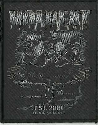 VOLBEAT outlaw raven 2015 - WOVEN SEW ON PATCH official merchandise (sealed)