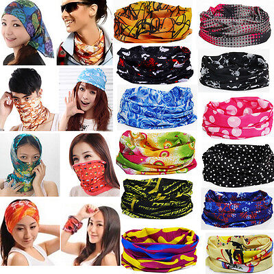 67 Colors Multi Purpose Face Mask Snood Bandana Neck Warmer Outdoor Headwear