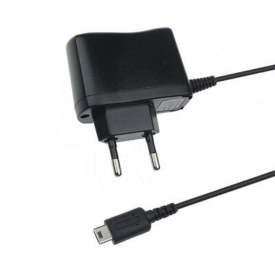 Home Travel EU Plug  Wall Charger Power Adapter for Nintendo DS Lite NDSL