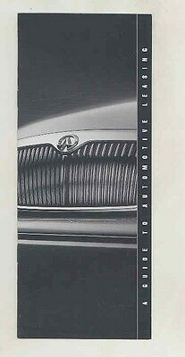 1994 Infiniti Leasing Small Brochure my5666