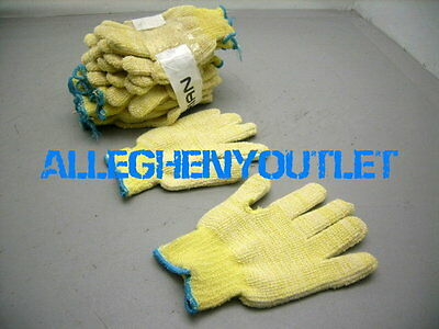 1 Pair North HEAVY DUTY Kevlar HEAT / CUT RESISTANT Terry Cloth Gloves LARGE MED