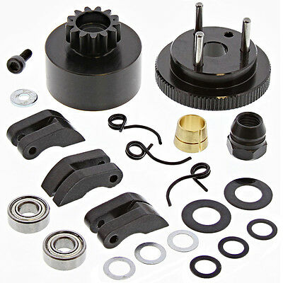 HPI Hot Bodies 1/8 HB D8T Truggy * FLYWHEEL, 13T CLUTCH BELL, SHOES & SPRINGS *