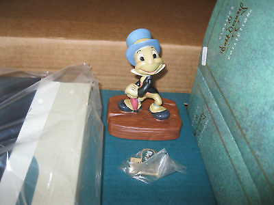 1993 WDCC FULL MEMBER KIT JIMINY CRICKET #1 CHARTER CLUB - Disney