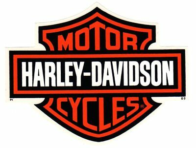 "7-1/4"" Genuine Harley Davidson Bar And Shield ~ Inside Window Decal Sticker!"