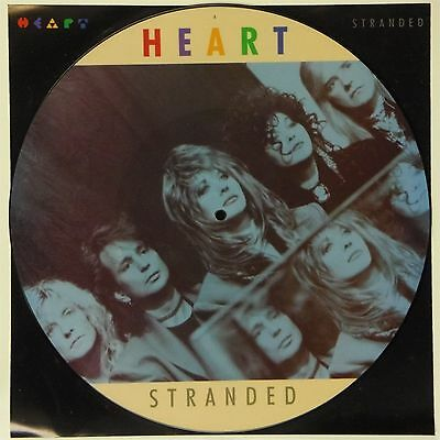 "Heart 'stranded' Uk Picture Disc 12"" Single"