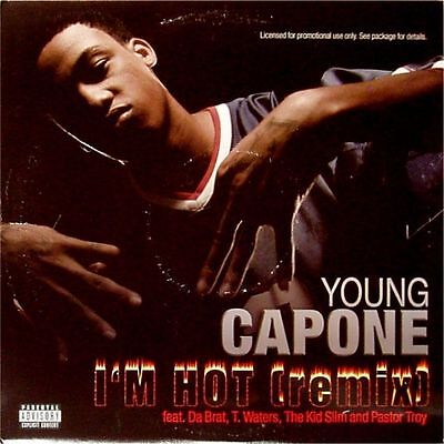 "Young Capone ' I 'm Hot (Remix) ' Us 12"" Single Promo Copy"