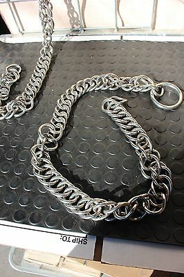 """30-64 New Pair of Stainless steel 40"""" pole chains for marathon harness pairs"""