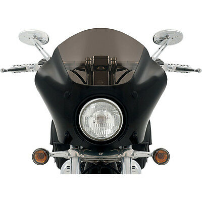 Memphis Shades Black Gauntlet Fairing for 96-10 Harley Sportster XL