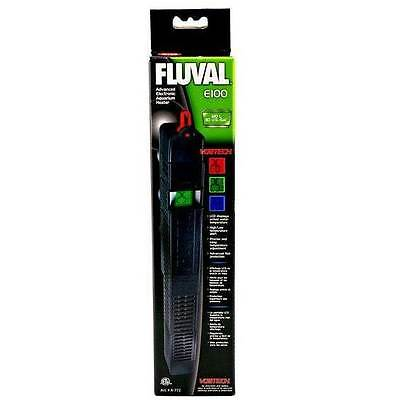 Fluval E100 Advanced Electronic Aquarium Heater 100 Watt Heat Water Fish Tank