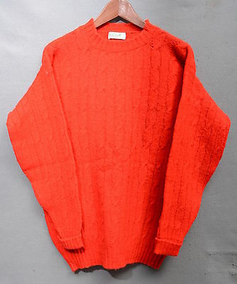 Lyle & Scott Maglione Sweater 80's Casual Vintage Tg L  A889