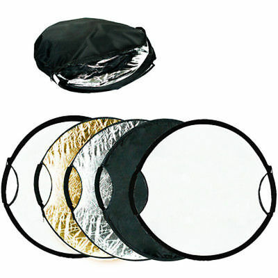 "56cm 22"" 5in1 Photography Studio Multi Photo Disc Collapsible Light Reflector"