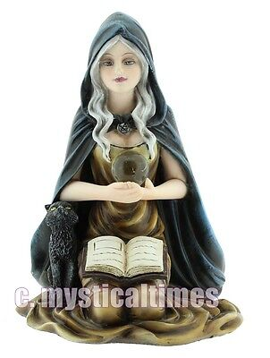New Misty Witch Statue Figurne Ornament From Nemesis Now With Free Post
