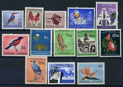 15-11-00893 - South Africa 1961 Mi.  287-299 MNH 60% Animals - 1 R creased