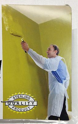 Disposable Plastic Painters Coverall One Size Fits Most All Purpose Protects