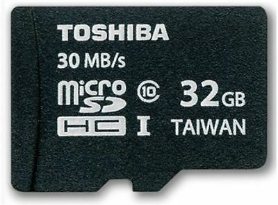 100% NEW Genuine Toshiba 32GB Micro SD Card Class 10 SDHC-I Flash Memory 30 MB/S