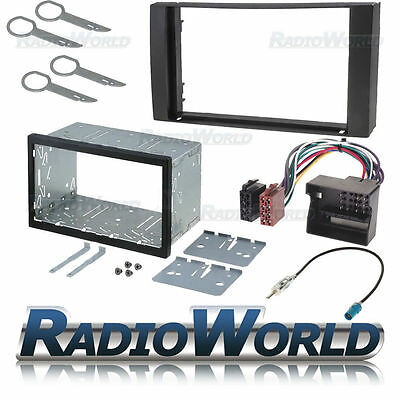 Ford Focus / Fiesta Double Din Fascia Panel Adapter Plate Cage Fitting Kit ISO