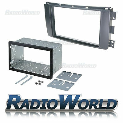 Smart ForTwo Double Din Fascia Panel Adapter Plate Cage Fitting Kit DFP-13-05
