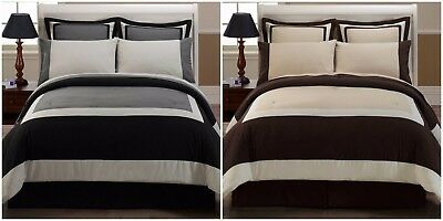 Chezmoi Collection 8-pieces Hotel Style Bed in a Bag Comforter with Sheet Set