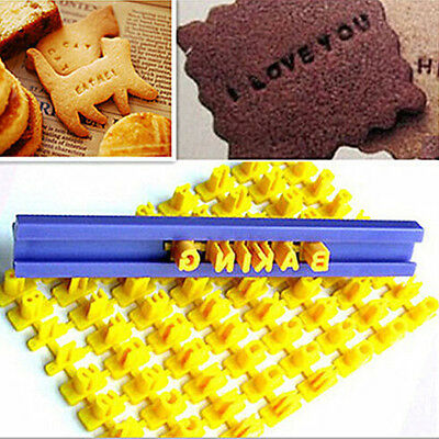 Free combination Alphabet Letter Number Cookie/Cake Press Stamp Embosser Cutters