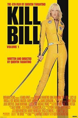 "KILL BILL POSTER ""LICENSED"" VOLUME 1 ""BRAND NEW"" SIZE 61 cm X 91.5 cm"