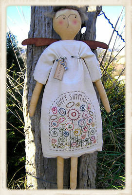 SiMPLiCiTY || Cloth Doll Pattern + Wings & Tag || UP iN ANNiE'S ROOM!