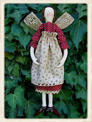 LACEWiNG ANGEL || Cloth Doll Pattern || UP iN ANNiE'S ROOM!