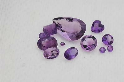 AMETHYST Stones. Different Shapes & Sizes. Oval, Round, Square, Pear Shape - NEW