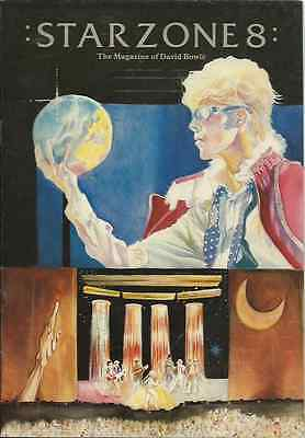 DAVID BOWIE starzone number 8 international magazine 36 pages 1983 july/august
