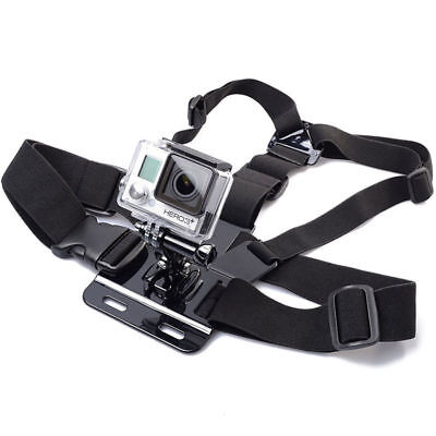Adjustable Elastic Chest Strap Harness Mount for GoPro Camera Hero1 2 3 4 SJ4000