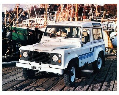 1986 Land Rover 90 Factory Photo ca4051