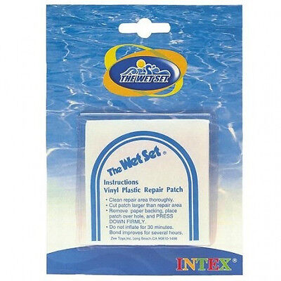 Genuine Intex Repair Kit Stick on Patch Above Ground Pools Lounges 7cm x 7cm 6pc
