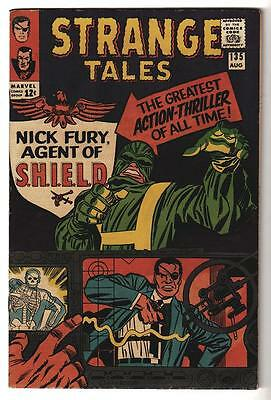 Marvel Comics VFN 8.0  STRANGE TALES #135 1st NICK FURY high grade  hulk