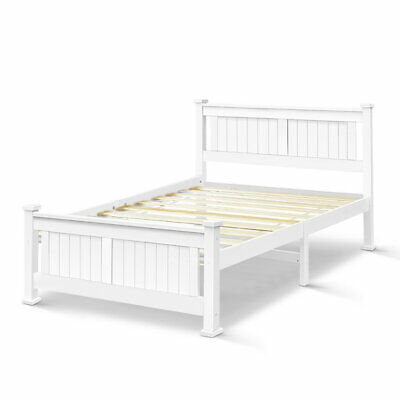 NEW Wooden Bed Frame RIO Queen Pine Wood Children Adult Timber Slat
